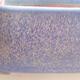 Ceramic bonsai bowl 20.5 x 17 x 7 cm, color blue - 2/3
