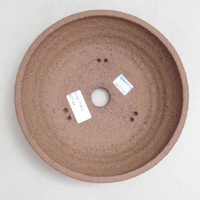 Ceramic bonsai bowl 19.5 x 19.5 x 5.5 cm, cracked color - 2