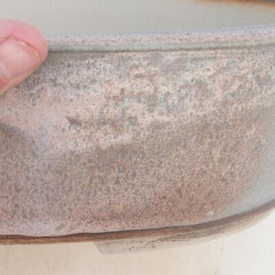 Bonsai bowl 34 x 26 x 9.5 cm, gray-beige color - 2