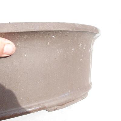 Bonsai bowl 50 x 38 x 14 cm, gray color - 2
