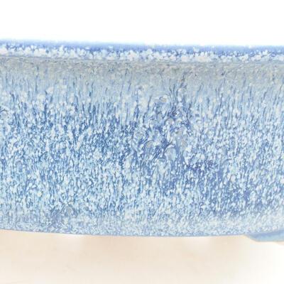 Ceramic bonsai bowl 23 x 20 x 7 cm, color blue - 2