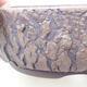 Ceramic bonsai bowl 21 x 21 x 7 cm, color cracked - 2/4