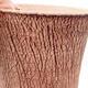 Ceramic bonsai bowl 12 x 12 x 14 cm, color cracked - 2/3