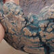 Ceramic shell 7.5 x 7 x 6.5 cm, color gray blue - 2/2