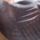 Ceramic shell 7.5 x 7.5 x 5.5 cm, metal color - 2/3