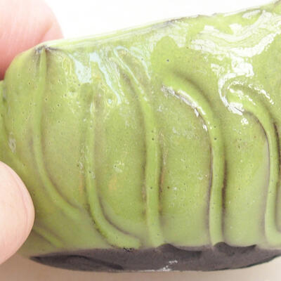 Ceramic shell 7 x 7 x 5 cm, color green - 2
