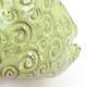 Ceramic shell 7.5 x 6 x 5 cm, color green - 2/3