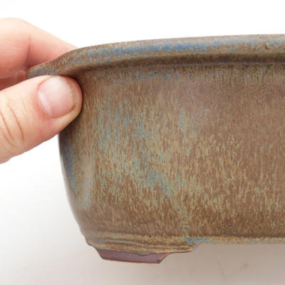Ceramic bonsai bowl - fired in a gas oven 1240 ° C - 2