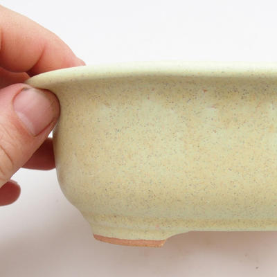 Ceramic bonsai bowl - fired in a gas oven 1240 ° C - 2