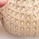 Ceramic shell 7 x 5.5 x 6 cm, beige color - 2/3