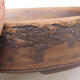 Ceramic bonsai bowl - fired in a gas oven 1240 ° C - 2/4