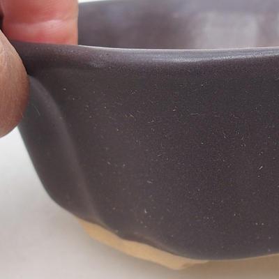 Ceramic bonsai bowl H 06 - 14,5 x 14,5 x 4,5 cm - 2