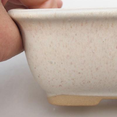 Ceramic bonsai bowl H 38 - 12 x 10 x 5.5 cm, beige - 2