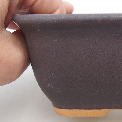 Ceramic bonsai bowl H 38 - 12 x 10 x 5,5 cm - 2