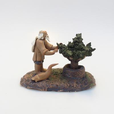 Ceramic figurine - Bonsaijista - 2