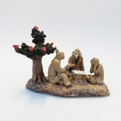 Ceramic figurine - Bonsajista - 2