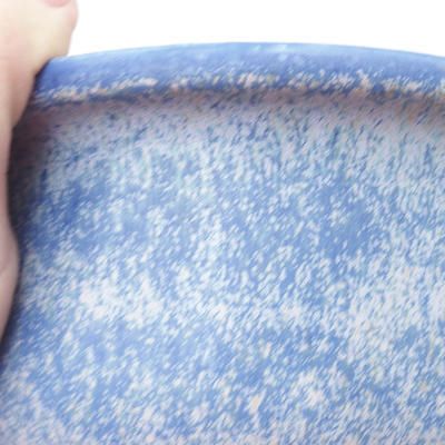 Ceramic bonsai bowl 23 x 19 x 8 cm, color blue - 2