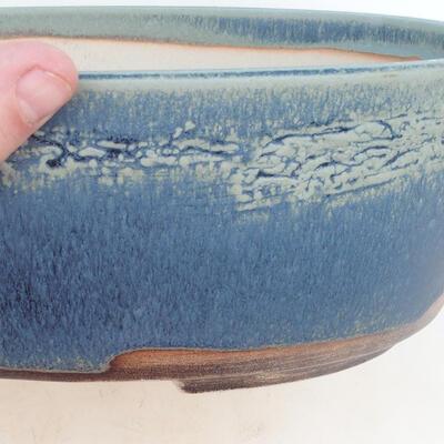 Bonsai bowl 31 x 24 x 10 cm, color blue - 2