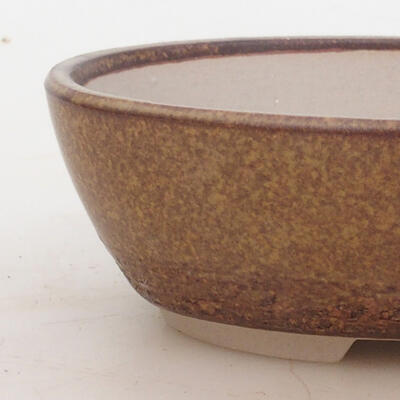 Bonsai bowl 16 x 11 x 5 cm, color brown - 2