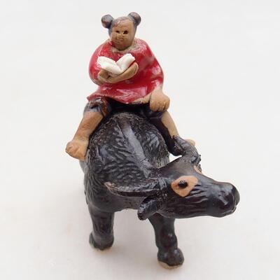 Ceramic figurine - Cow D3-1 - 2