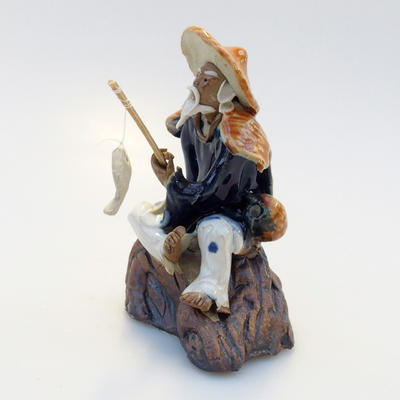 Ceramic figurine - Fisherman - 2