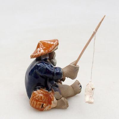 Ceramic figurine - Fisherman F22 - 2