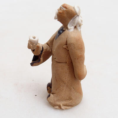 Ceramic figurine - Stick figure H28 - 2