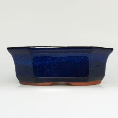 Bonsai bowl tray H14 - bowl 17,5 x 17,5 x 6,5, tray 17,5 x 17,5 x 1,5 - 2