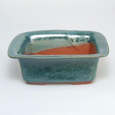 Bonsai bowl H1 - 11,5 x 10 x 4,5 cm, 1 x 9,5 x 1 cm - 2