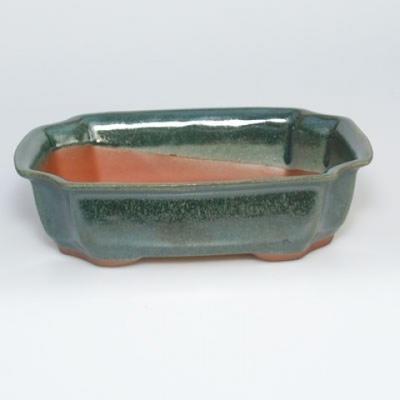 Bonsai bowl tray H03 - 16,5 x 11,5 x 5 cm, tray 16,5 x 11,5 x 1 cm - 2