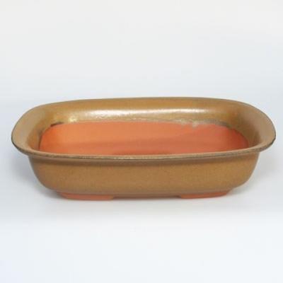 Ceramic bonsai bowl H 10 - 37 x 27 x 10 cm - 2