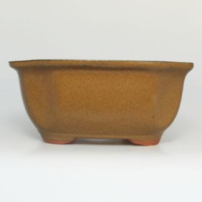 Bonsai bowl tray H32 - bowl 12.5 x 10.5 x 6 cm, tray 12.5 x 10.5 x 1 cm - 2