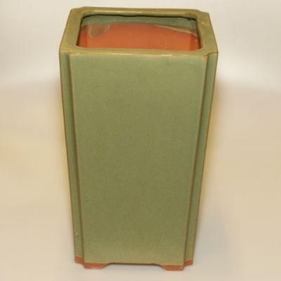 Ceramic bonsai bowl H 22 - 17,5 x 17,5 x 29 cm - 2