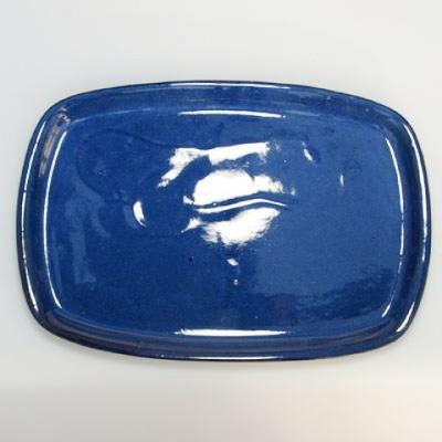 Bonsai bowl + tray H09 - bowl 31 x 21 x 8 cm, tray 28 x 19 x 1,5 cm - 2