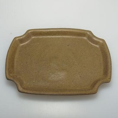 Bonsai bowl + tray H01 - tray 12 x 9 x 5 cm, tray 11,5 x 8,5 x 1 cm - 2