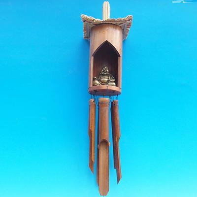 Bamboo wind chimes Budha 120 cm - 2