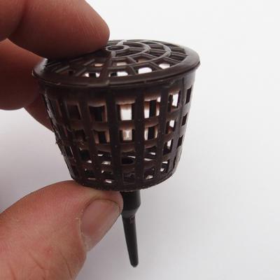 Plastic fertilizer baskets 10 pcs - 3,5 x 5,5 cm - 3