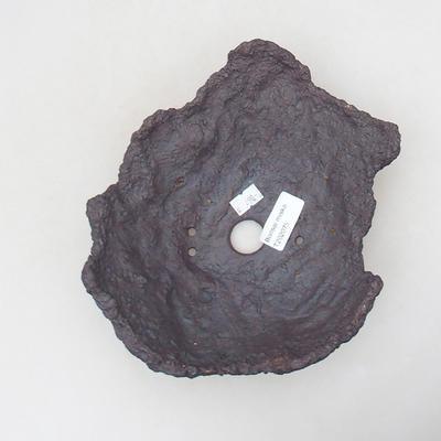 Ceramic Shell 19 x 16 x 8 cm, gray-brown - 3