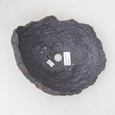 Ceramic Shell 21 x 19 x 18 cm, gray-brown - 3