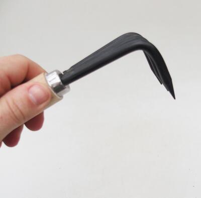 Ceramic bonsai bowl 14.5 x 14.5 x 4.5 cm, cracked color - 3
