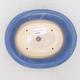 Ceramic bonsai bowl 19 x 16 x 6.5 cm, color blue - 3/3