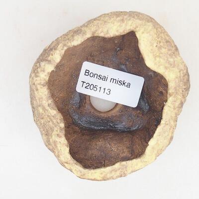 Ceramic shell 7 x 6 x 5 cm, color yellow - 3