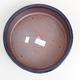 Ceramic bonsai bowl 23 x 23 x 7 cm, metal color - 3/4