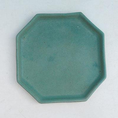 Bonsai bowl + tray H 13 - bowl11,5 x 11,5 x 4,5 cm, tray 11,5 x 11,5 x 1 cm - 3