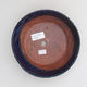 Ceramic bonsai bowl 17 x 17 x 4,5 cm, color blue - 3/4