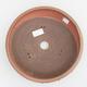 Ceramic bonsai bowl - 24 x 24 x 6,5 cm, red color - 3/3