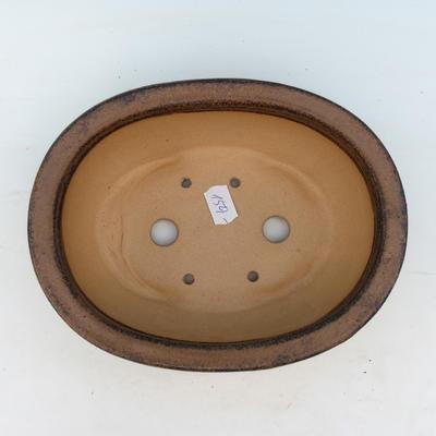 bonsai bowl CEJ 20, dark brown - 3