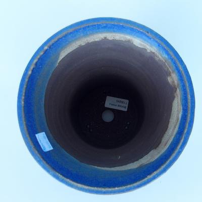 Ceramic bonsai bowl 20 x 20 x 20,5 cm color blue - 3