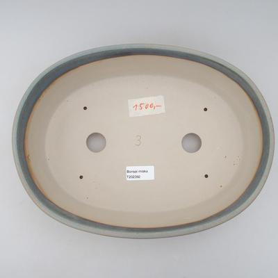 Bonsai bowl 31 x 23.5 x 8.5 cm, gray color - 3