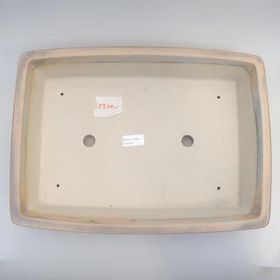 Bonsai bowl 42 x 31 x 9.5 cm, gray color - 3